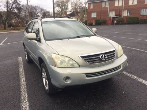 2006 Lexus RX 400h for sale at DEALS ON WHEELS in Moulton AL