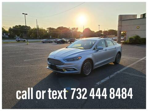 2018 Ford Fusion Energi for sale at Ultimate Motors in Port Monmouth NJ
