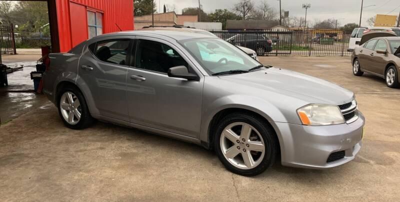 2013 Dodge Avenger for sale at JORGE'S MECHANIC SHOP & AUTO SALES in Houston TX