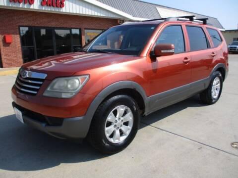 2009 Kia Borrego for sale at Eden's Auto Sales in Valley Center KS
