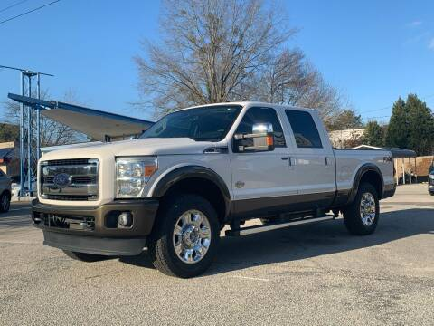 2016 Ford F-250 Super Duty for sale at GR Motor Company in Garner NC