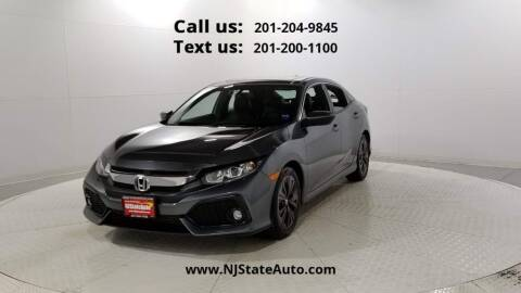 2017 Honda Civic for sale at NJ State Auto Used Cars in Jersey City NJ