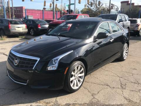 2017 Cadillac ATS for sale at SKYLINE AUTO in Detroit MI