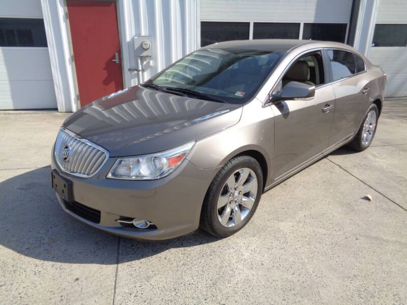 2011 Buick LaCrosse for sale at Lewin Yount Auto Sales in Winchester VA