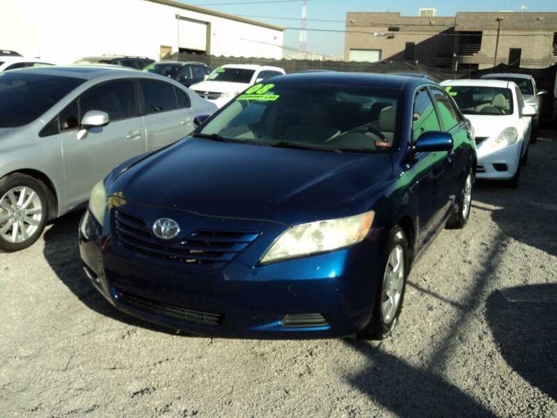 2008 Toyota Camry for sale at DESERT AUTO TRADER in Las Vegas NV