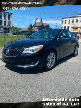 2014 Buick Regal for sale at Affordable Auto Sales of PJ, LLC in Port Jervis NY