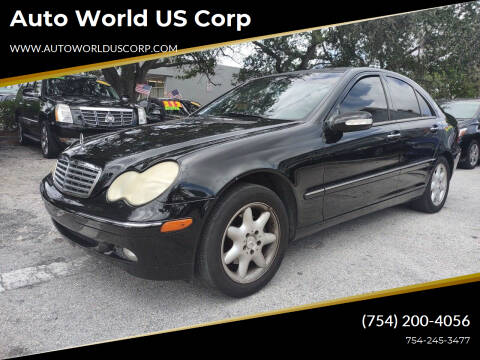 2004 Mercedes-Benz C-Class for sale at Auto World US Corp in Plantation FL