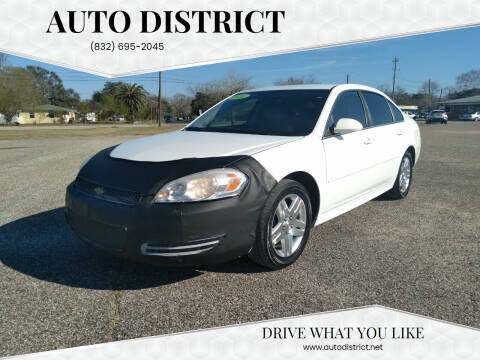 2012 Chevrolet Impala for sale at Auto District in Baytown TX