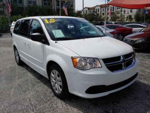 2015 Dodge Grand Caravan for sale at Brascar Auto Sales in Pompano Beach FL