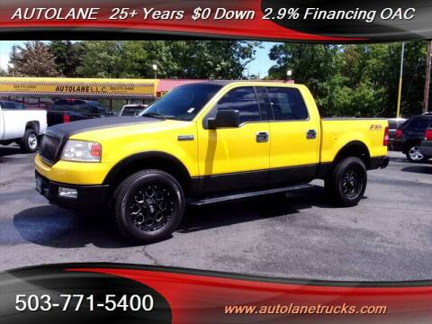 2004 Ford F-150 for sale at Auto Lane in Portland OR