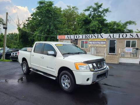 2009 Nissan Titan for sale at Auto Tronix in Lexington KY