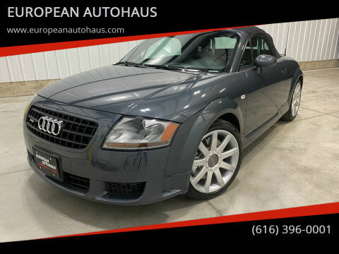 2005 Audi TT for sale at EUROPEAN AUTOHAUS in Holland MI