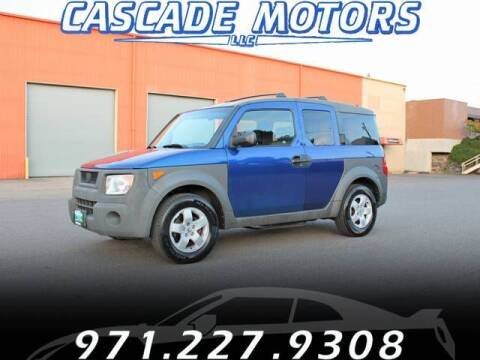 2004 Honda Element for sale at Cascade Motors in Portland OR