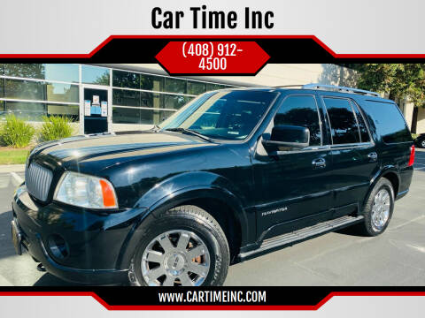 2003 Lincoln Navigator for sale at Car Time Inc in San Jose CA