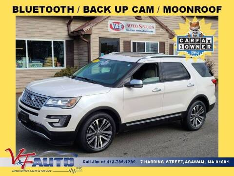 2017 Ford Explorer for sale at V & F Auto Sales in Agawam MA