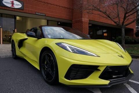 2021 Chevrolet Corvette for sale at Team One Motorcars, LLC in Marietta GA