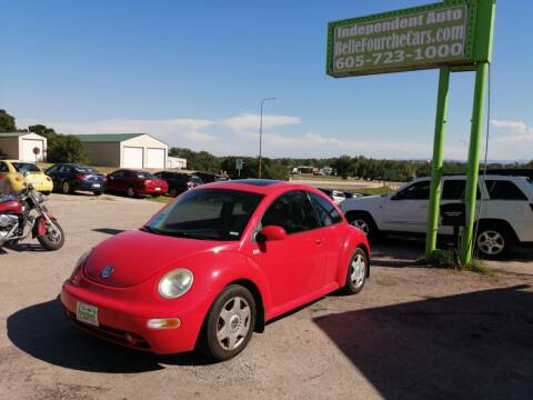 2001 Volkswagen New Beetle for sale at Independent Auto in Belle Fourche SD