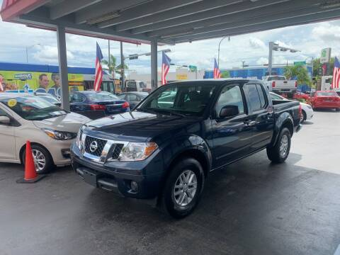 2019 Nissan Frontier for sale at American Auto Sales in Hialeah FL