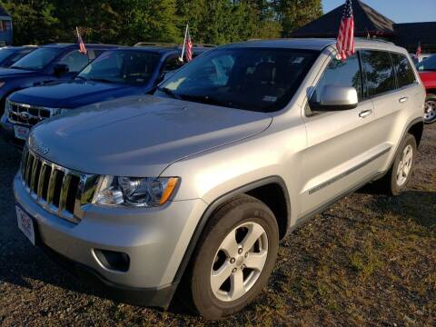 2012 Jeep Grand Cherokee for sale at Winner's Circle Auto Sales in Tilton NH