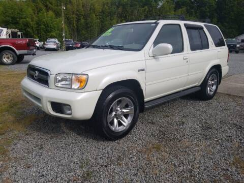 2004 Nissan Pathfinder for sale at TR MOTORS in Gastonia NC