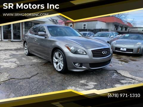 2011 Infiniti M37 for sale at SR Motors Inc in Gainesville GA