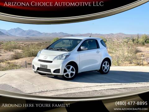 2014 Scion iQ for sale at Arizona Choice Automotive LLC in Mesa AZ