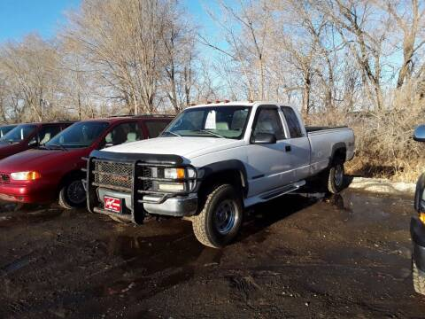 1998 GMC Sierra 2500 for sale at BARNES AUTO SALES in Mandan ND
