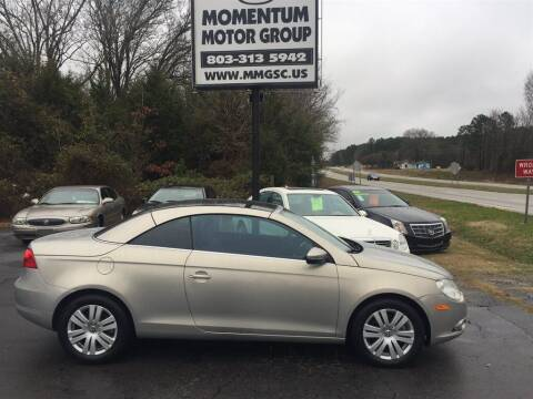 2009 Volkswagen Eos for sale at Momentum Motor Group in Lancaster SC
