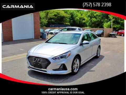 2018 Hyundai Sonata for sale at CARMANIA LLC in Chesapeake VA