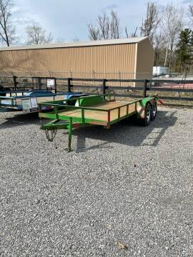1986 Homemade 16' Utility Trailer  for sale at Ben's Lawn Service and Trailer Sales in Benton IL
