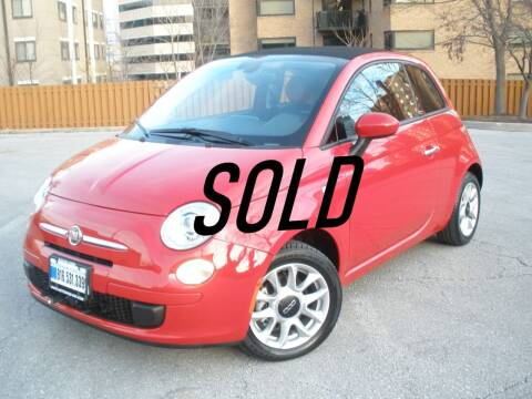 2017 FIAT 500c for sale at Autobahn Motors USA in Kansas City MO