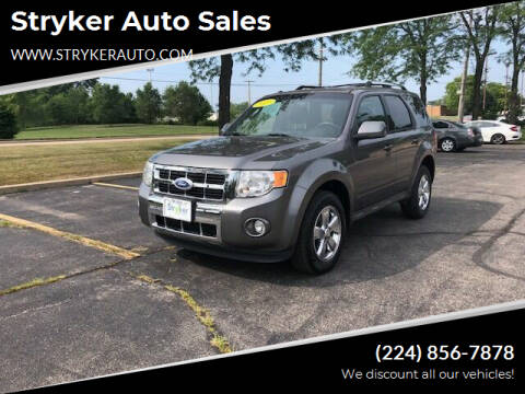 2011 Ford Escape for sale at Stryker Auto Sales in South Elgin IL