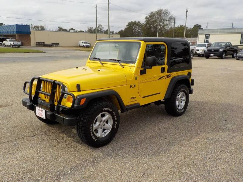 2004 Jeep Wrangler for sale at Young's Motor Company Inc. in Benson NC