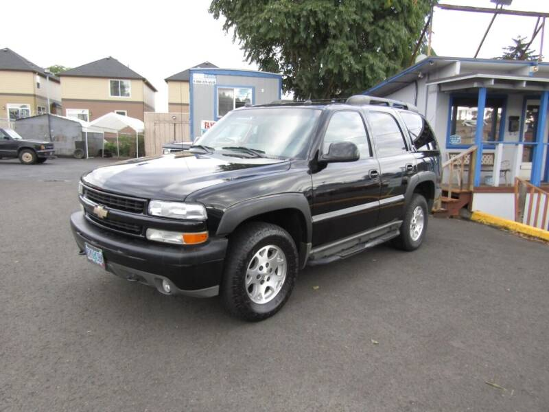 2005 Chevrolet Tahoe for sale at ARISTA CAR COMPANY LLC in Portland OR