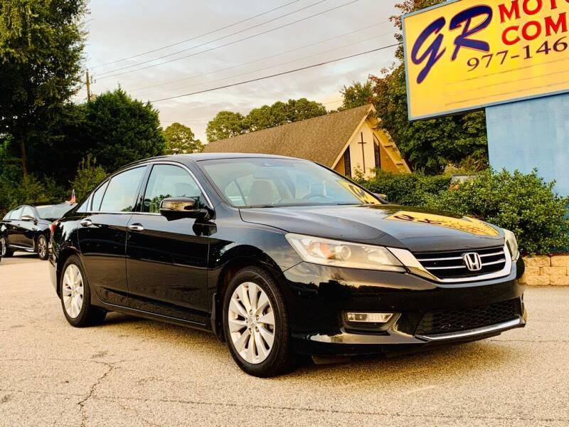 2013 Honda Accord for sale at GR Motor Company in Garner NC