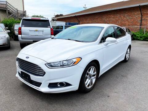 2015 Ford Fusion for sale at Dijie Auto Sale and Service Co. in Johnston RI