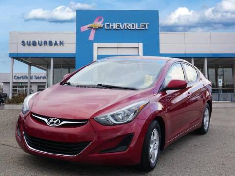 2015 Hyundai Elantra for sale at Suburban Chevrolet of Ann Arbor in Ann Arbor MI