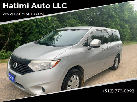 2015 Nissan Quest for sale at Hatimi Auto LLC in Buda TX