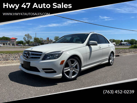 2011 Mercedes-Benz C-Class for sale at Hwy 47 Auto Sales in Saint Francis MN