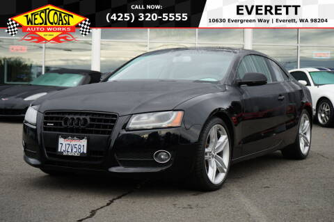 2010 Audi A5 for sale at West Coast Auto Works in Edmonds WA