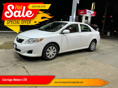 2009 Toyota Corolla for sale at Carriage Motors LTD in Ingleside IL