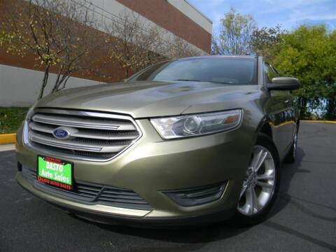 2013 Ford Taurus for sale at Dasto Auto Sales in Manassas VA