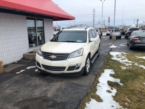 2013 Chevrolet Traverse for sale at BORGMAN OF HOLLAND LLC in Holland MI