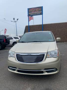 2011 Chrysler Town and Country for sale at GREAT DEAL AUTO SALES in Center Line MI