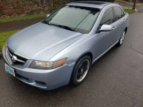 2004 Acura TSX for sale at KC Cars Inc. in Portland OR