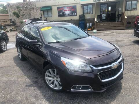 2015 Chevrolet Malibu for sale at Some Auto Sales in Hammond IN