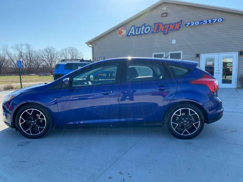 2012 Ford Focus for sale at The Auto Depot in Mount Morris MI