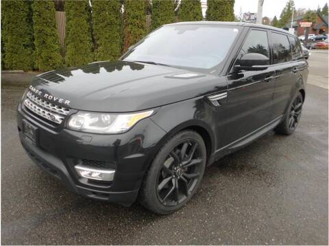 2016 Land Rover Range Rover Sport for sale at Klean Carz in Seattle WA