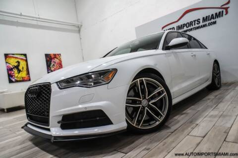 2016 Audi S6 for sale at AUTO IMPORTS MIAMI in Fort Lauderdale FL