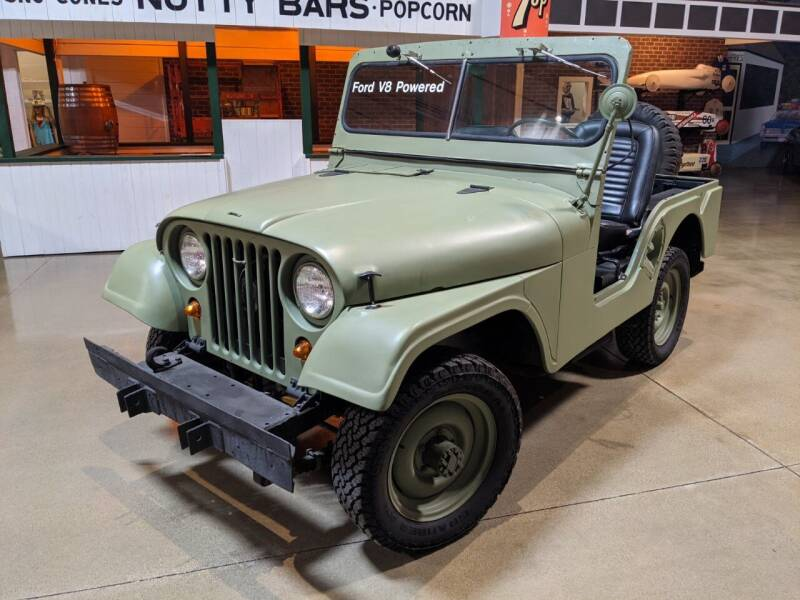 1956 Willys Jeep for sale at Okoboji Classic Cars in West Okoboji IA